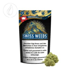 Swiss Weeds Blue